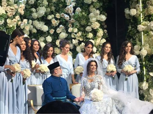 Король Малайзии женился на россиянке - подробности, фото