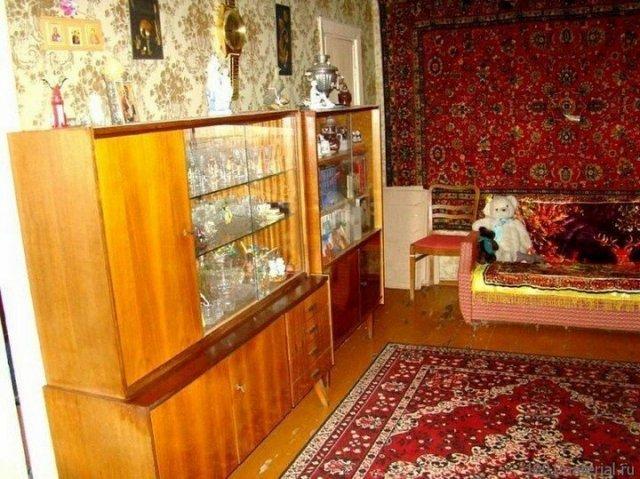 �нтерьеры советских квартир