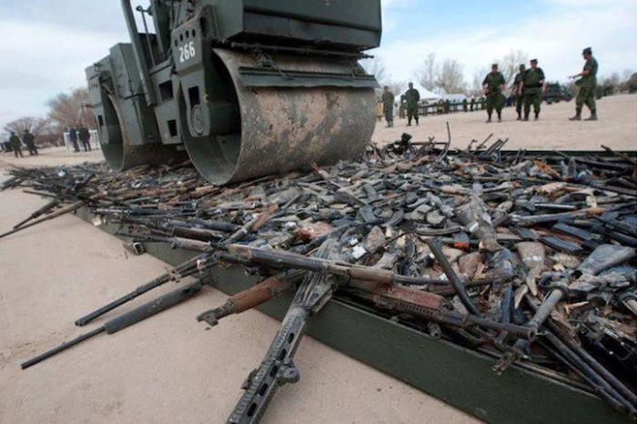 Что происходит с устаревшим оружием (6 фото)