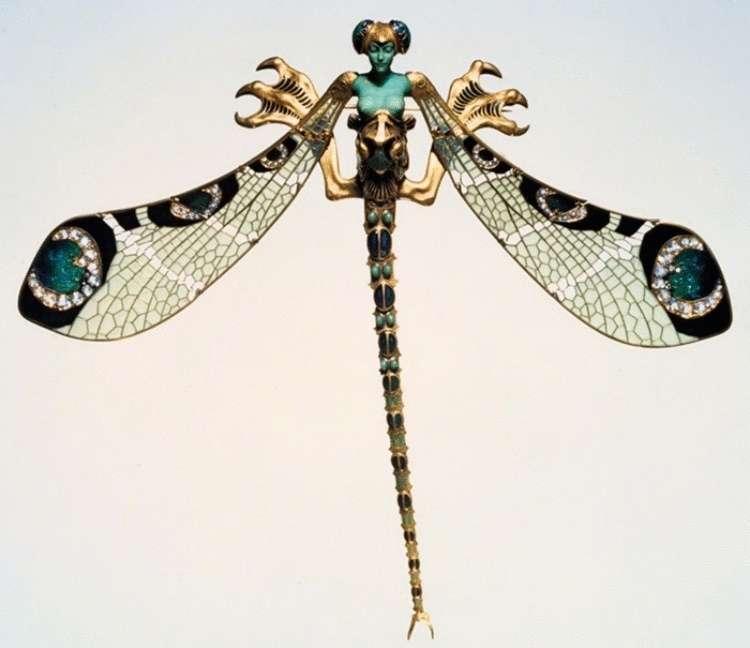 Потрясающие украшения гениального ювелира Рене Лалика. Его работы покорили императорскую семью