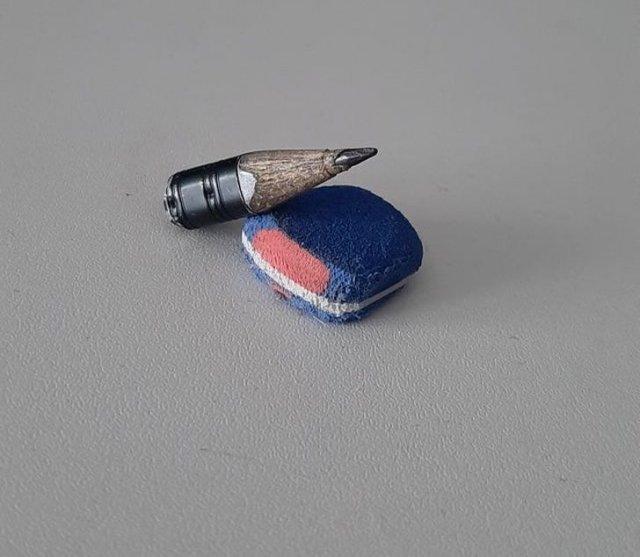 Полностью исписанный карандаш