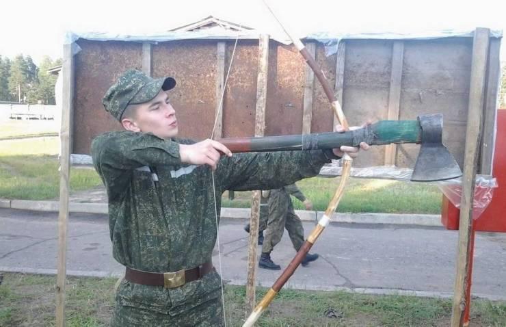 Солдат с луком