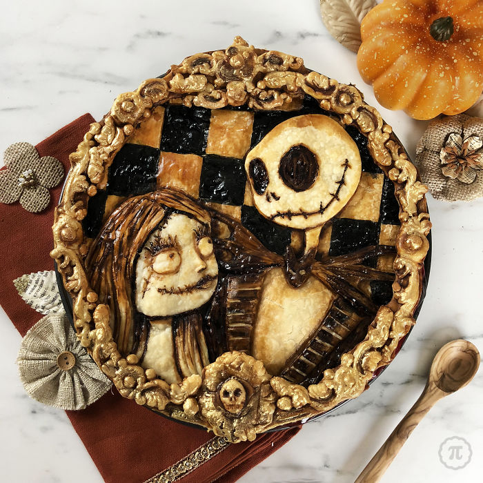 Адски крутые пироги на Хеллоуин, которым позавидуют и Тим Бёртон, и Гильермо дель Торо!