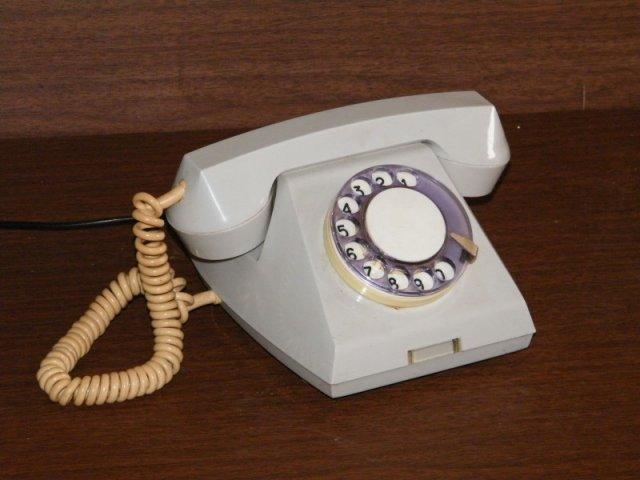 Проводной телефон - как по нему разговаривать?
