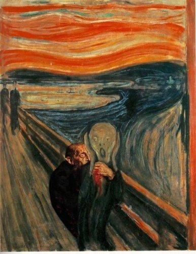 Фотожабы на картину «Иван Грозный убивает своего сына»