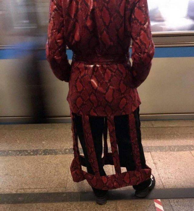 Необычная куртка