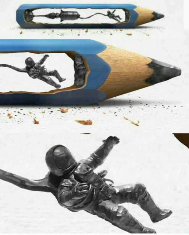 Искусство из карандаша