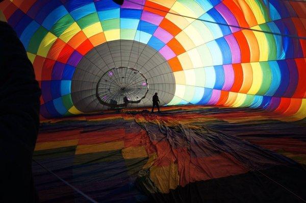 Воздушный шар для полётов изнутри