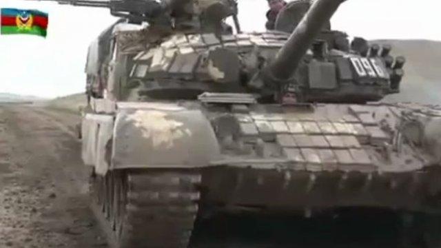 Военные видео из Нагорного Карабаха от Министерств обороны Азербайджана и Армении (3 видео)
