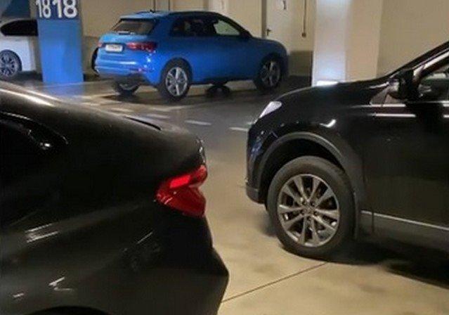 Когда две девушки не могут поделить одну парковку в Сочи