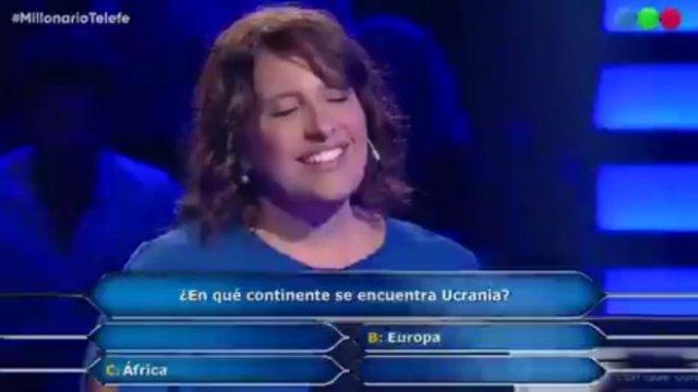 Украина в Европе или в Африке? Как ответила женщина после того, как взяла подсказку 50/50