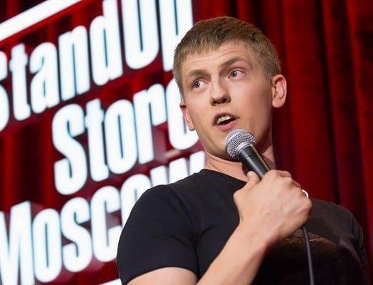 Алексей Щербаков на сцене