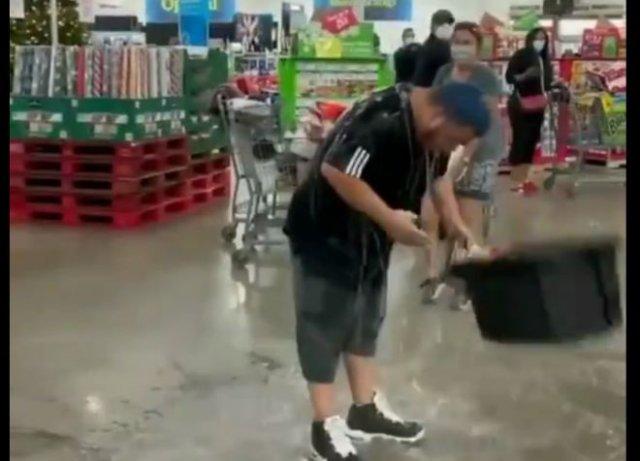 Когда не надел маску в магазине