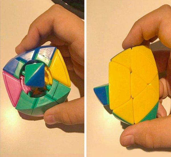 Вот что находится внутри кубика Рубика