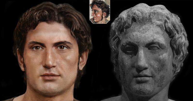 Реконструкция лиц античности