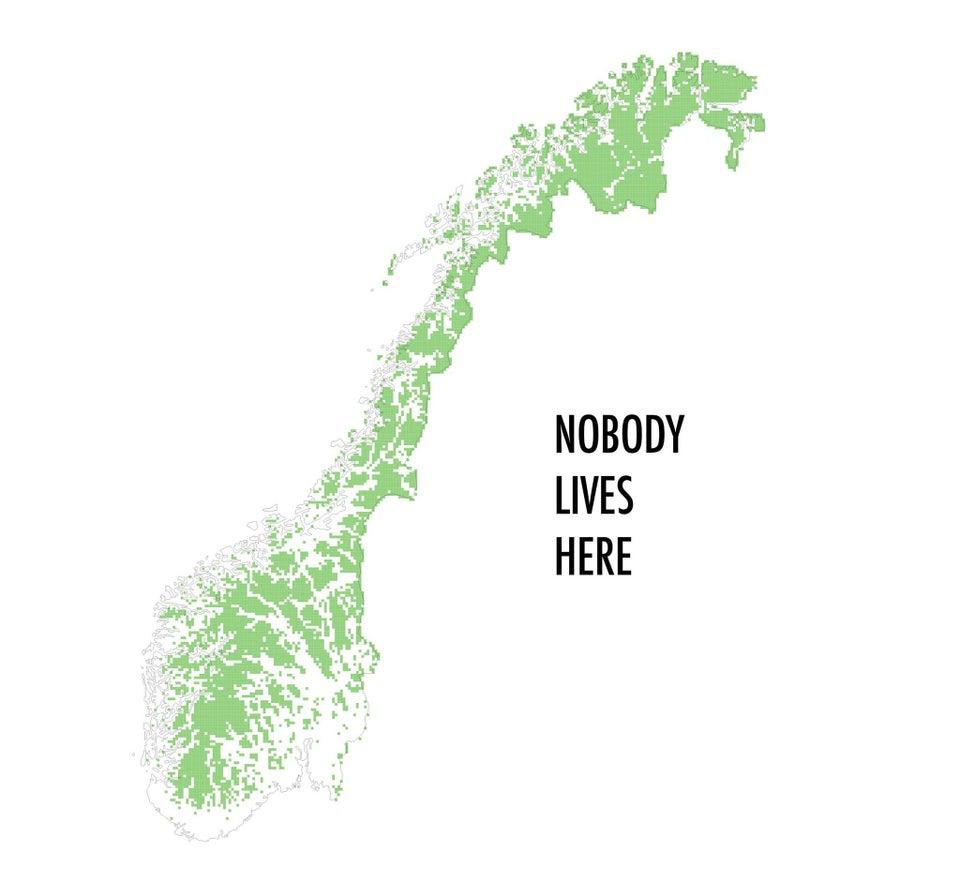 20 нестандартных географических карт, которые куда интереснее чем скучные факты