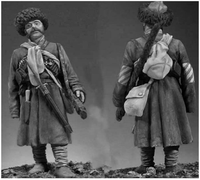 Казаки этого подразделения носили очень легкую, не бросающуюся в глаза, удобную одежду / Фото: armflot.ru