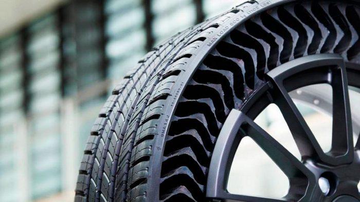 Michelin и GM начинают выпуск безвоздушных, безопасных шин, которые нельзя проколоть