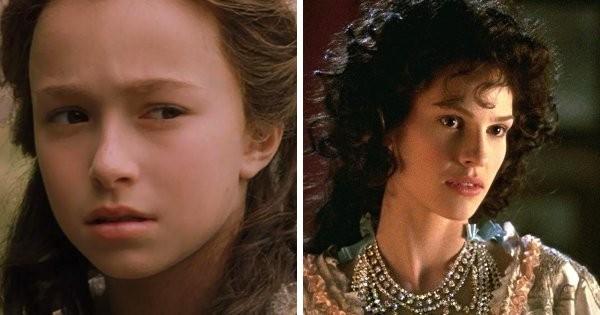 Пары известных актеров, которые сыграли одного персонажа в разном возрасте в одном фильме (12 фото)