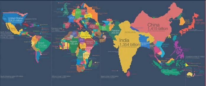 13 необычных карт, открывающие мир с другой стороны