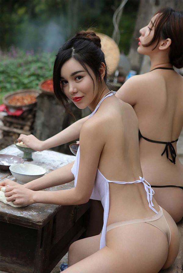 Как выглядят деревенские девушки в Китае