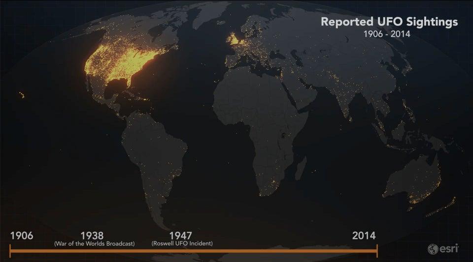 16 удивительных и крутых фактов о нашей планете, представленных нам с помощью карт