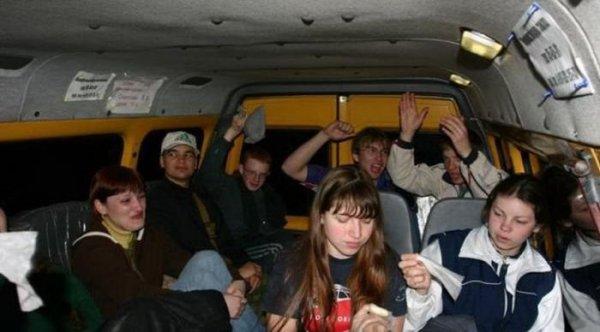 50 фото приколов, которые можно увидеть только в общественном транспорте