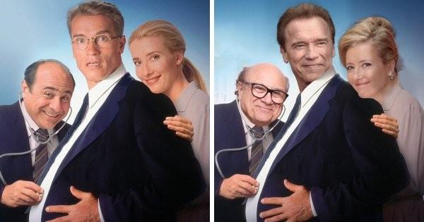 Фотошоп-челлендж: актеры, которых поместили в их знаменитые фильмы в нынешнем возрасте (15 фото)