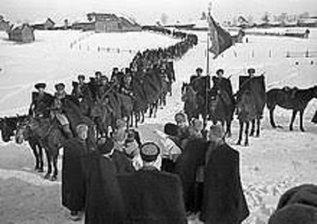 История о великом рейде полковника Доватора, который со своей конницей выжигал немецкие тылы
