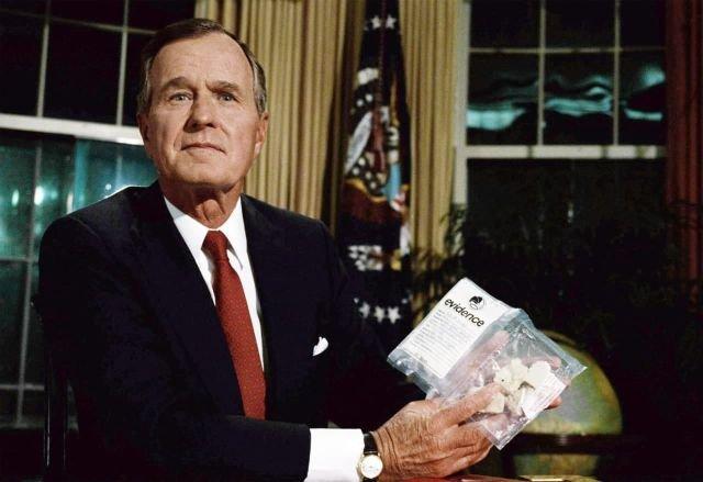 Президент Джордж Буш (старший)