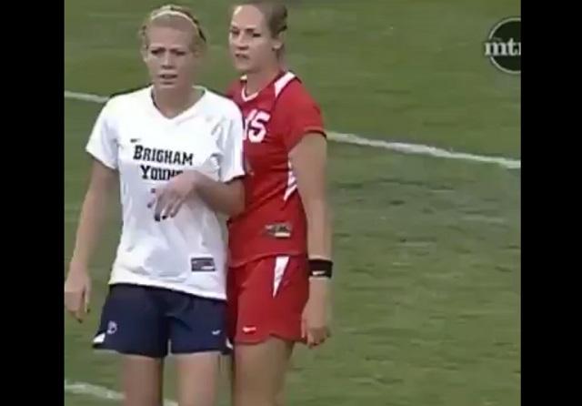 Безжалостный женский футбол