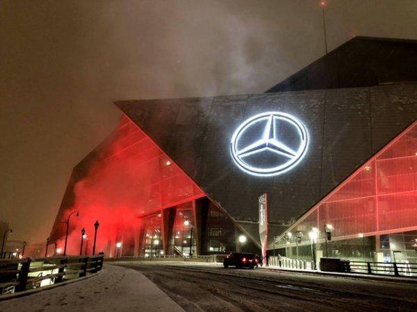 Стадион Mercedes-Benz Stadium