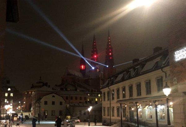 Кафедральный собор Уппсалы в Швеции