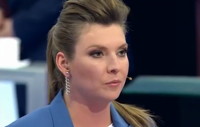 Ольга Скабеева назвала Украину Талибаном* из-за кричалки про Владимира Путина