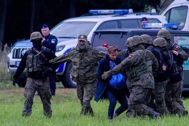 Польский депутат Франтишек Стерчевски