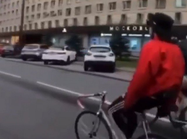Призрачный гонщик на Московском проспекте