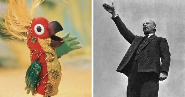 Попугай из «38 попугаев» — Владимир Ленин