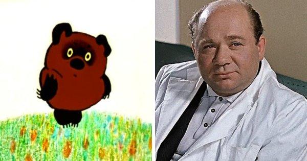 Винни Пух из советского мультфильма — Евгений Леонов