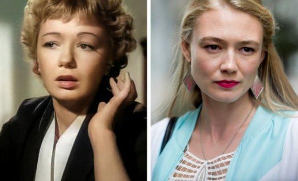 Людмила Шагалова и Оксана Акиньшина в 34 года