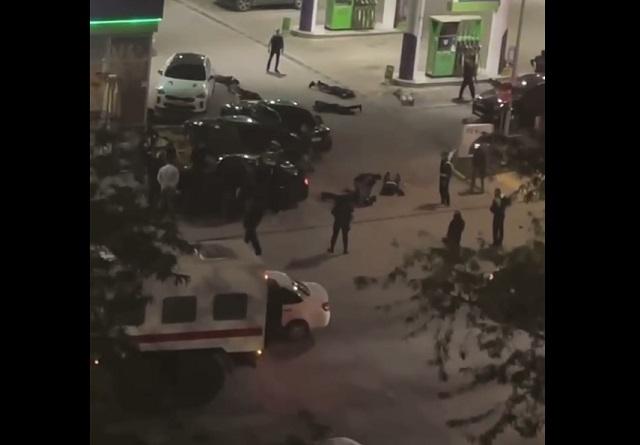 В Евпатории чеченцы устроили разборки со стрельбой с татарами на заправке