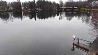 Купание в водоеме по-фински