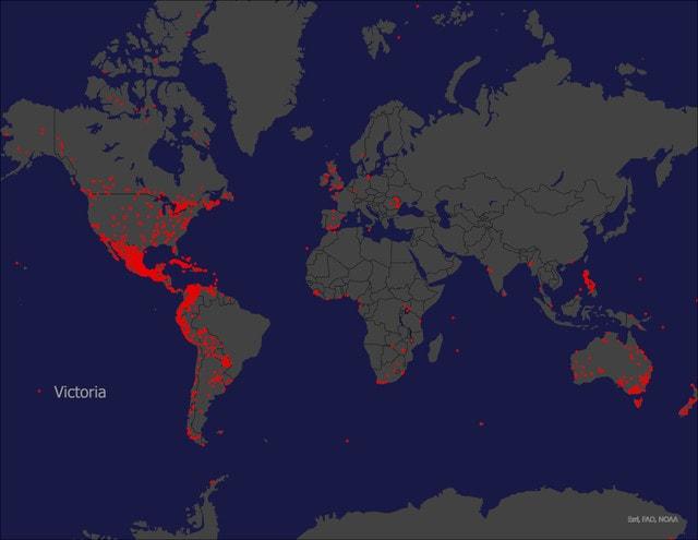 18 необычных карт, которые покажут, что география может быть интересной и занимательной
