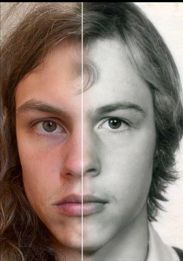 18 примеров, когда люди не просто похожи на своих предков, а являются настоящей копией кого-то из них