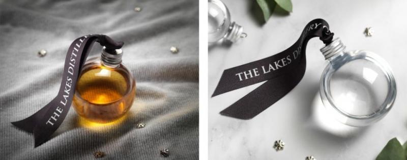 По шарам: елочные игрушки с алкоголем от британской Lakes Distillery