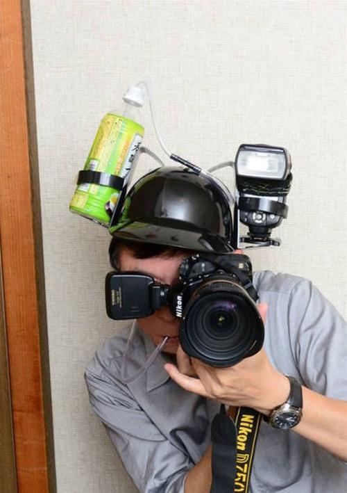 Удобное приспособление для профессиональных фотографов